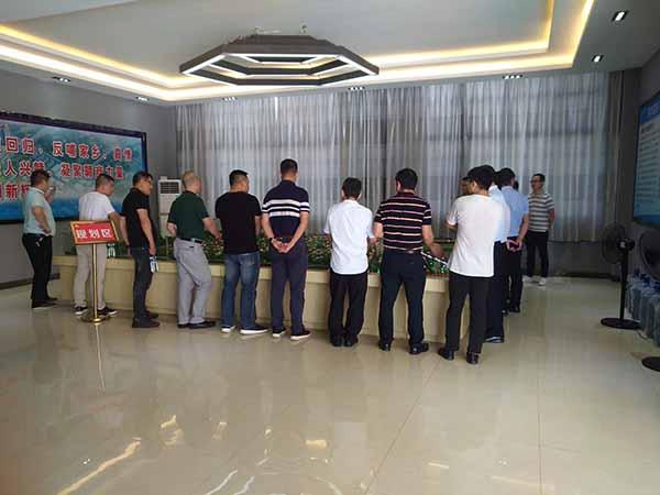 深圳客商代表团来园区参观考察